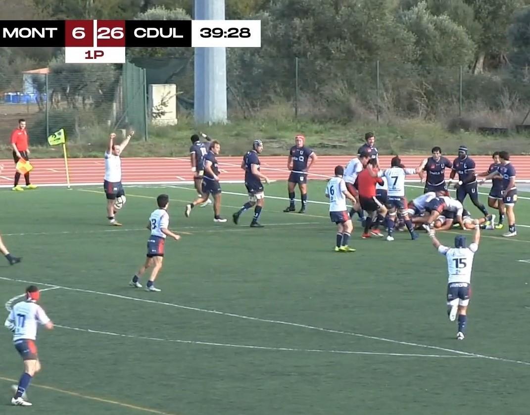 RCM VS CDUL: Mouflons cederam nos 10 minutos finais